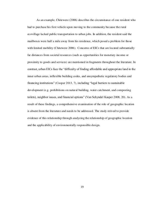 Exploratory essay on immigration
