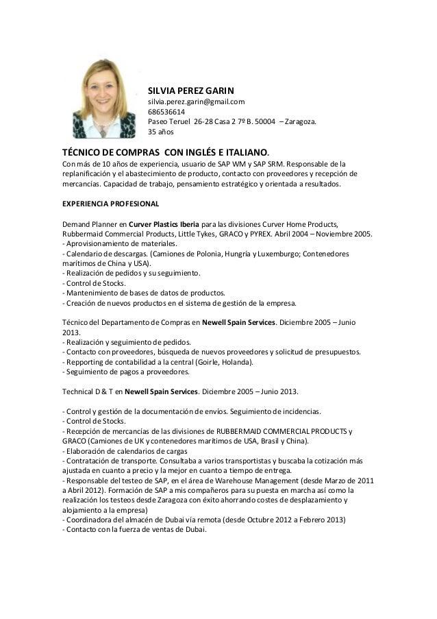 CV 2015 Compras