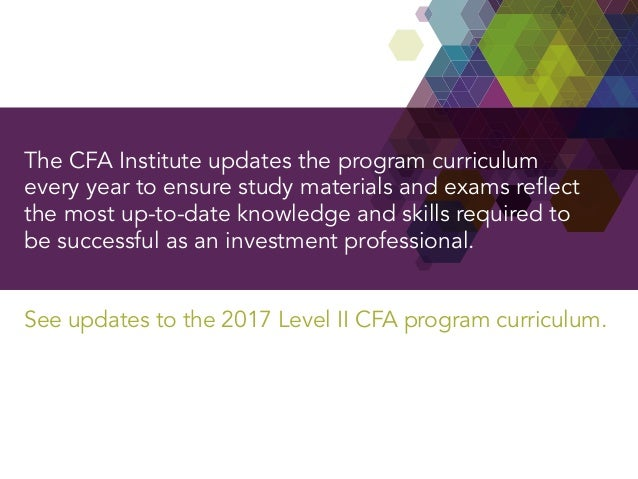 cfa level 2 undergraduate Banking and finance is a cfa program partner of the cfa  undergraduate study  programs cover a minimum of 70 percent of the level 1.