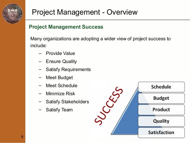 an overview of project management If your businesss is in need of an outstanding project management solution, then you cannot go wrong with wrike loved by clients and widely acclaimed by b2b review.