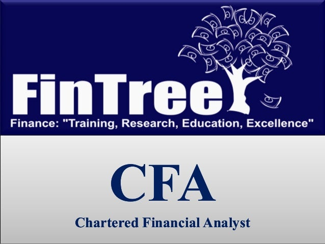 CFAChartered Financial Analyst