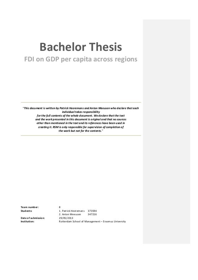 thesis rotterdam school of management