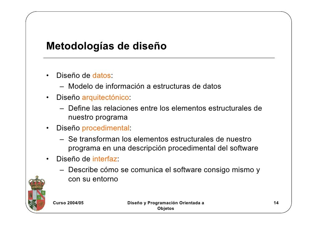 Dise o de software for Software de diseno arquitectonico
