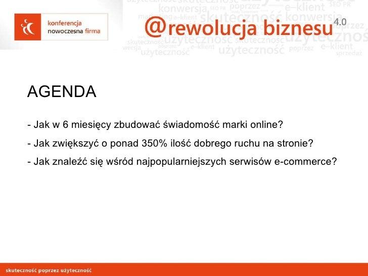 Optymalizacja i pozycjonowanie a wizerunek doz.pl Slide 3