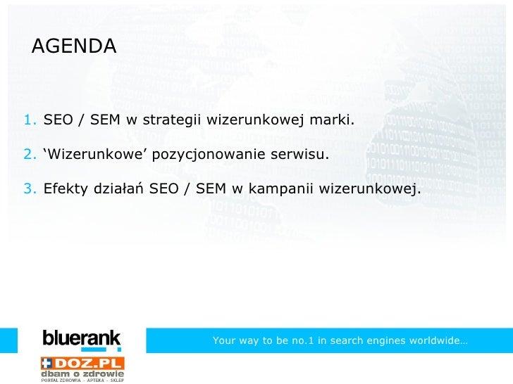 SEO i PPC w kampaniach wizerunkowych (doz.pl) Slide 2