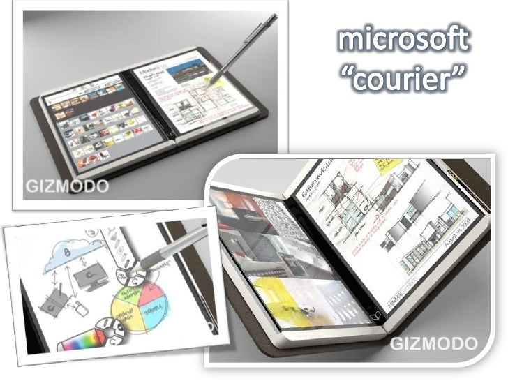 """microsoft""""courier""""<br />"""