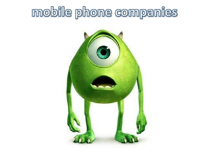 mobile phone companies<br />