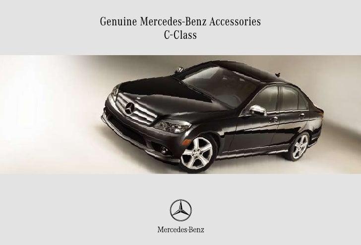 2010 Mercedes C Class Accessories Friendly Motors