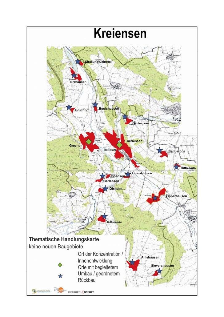 Karten zum Abschlussbericht Siedlungsflaechen