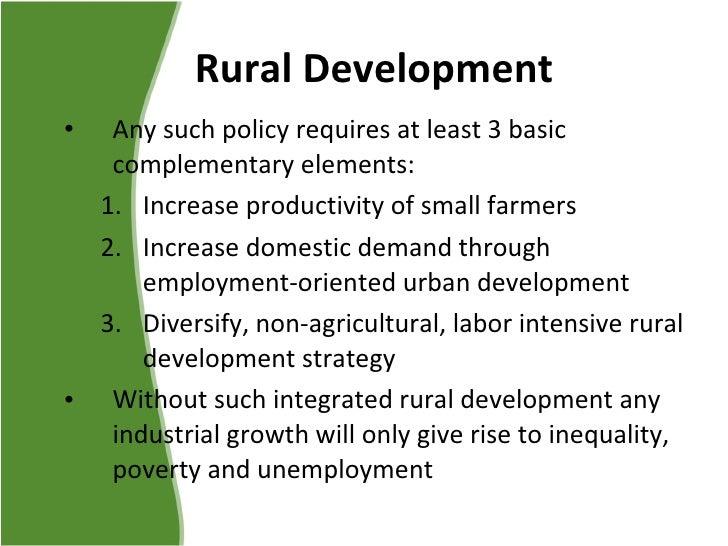 role of education in rural development pdf