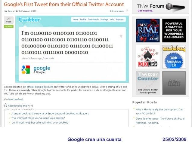 16/05/2009Twittero detenido en Guatemala por un twitt