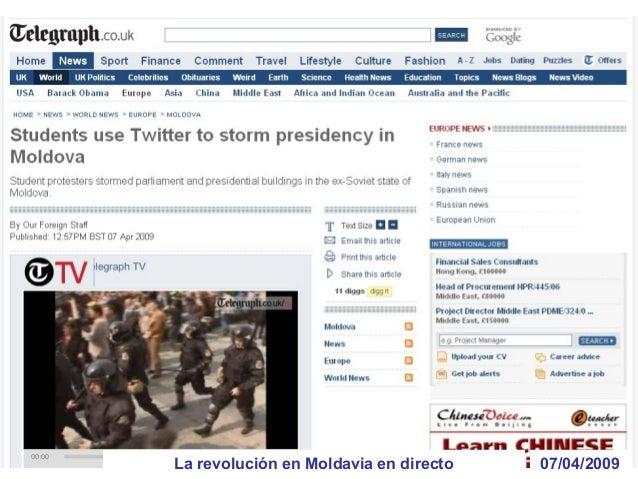 01/06/2009Primer accidente usando Twitter mientras corría ??