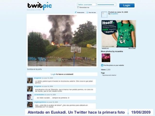 10/07/2009Se pueden pedir taxis por Twitter