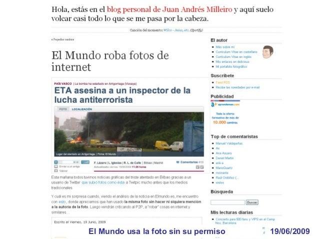 23/07/2009La Moncloa crea una cuenta