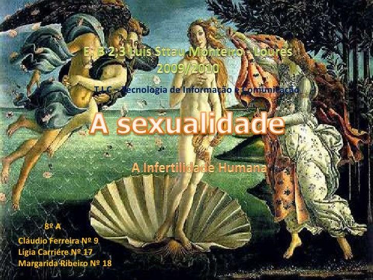E. B 2,3 Luís Sttau Monteiro - Loures<br />2009/2010<br />T.I.C – Tecnologia de Informação e Comunicação<br />A sexualidad...