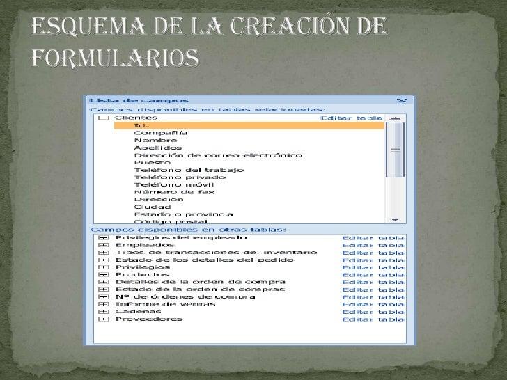 Esquema de consultas<br />Campos combinados con diferentes tipos de datos.<br />Haga clic con el botón secundario del mo...