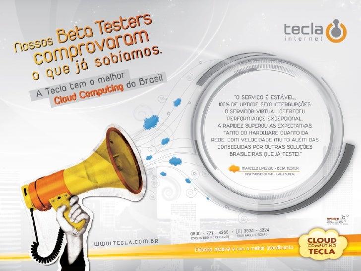 Anuncio Tecla Internet II - Cloud Computing