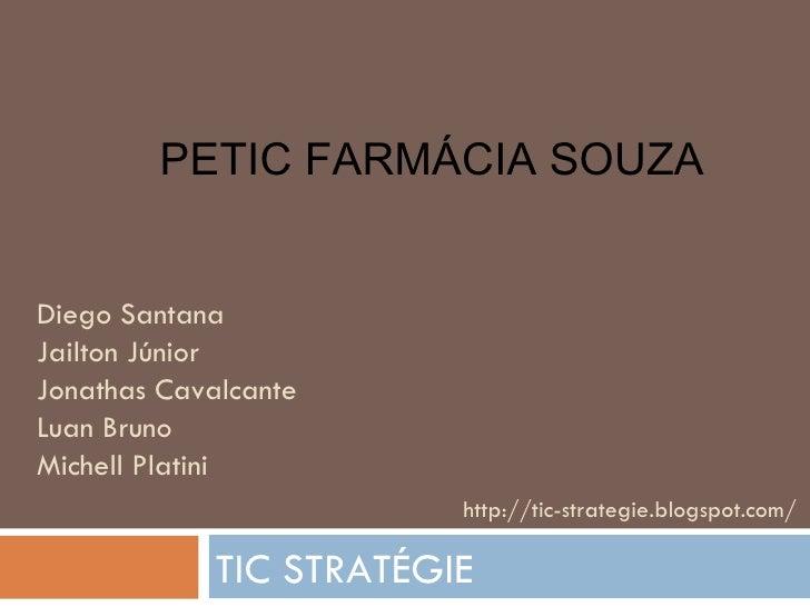 Diego Santana  Jailton Júnior Jonathas Cavalcante Luan Bruno Michell Platini TIC STRATÉGIE http://tic-strategie.blogspot.c...