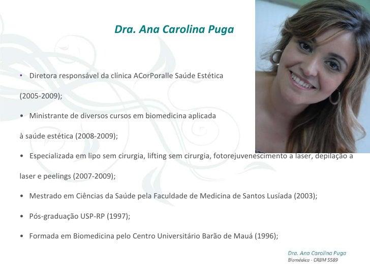 """"""" A possível atuação do biomédico na estética"""""""