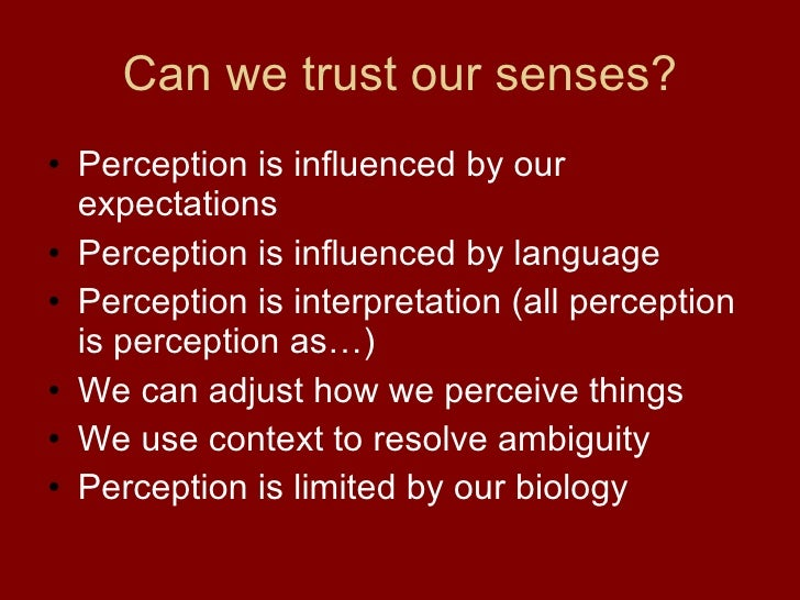 sense perception Sense perception definition, perception by the senses rather than by the intellect see more.