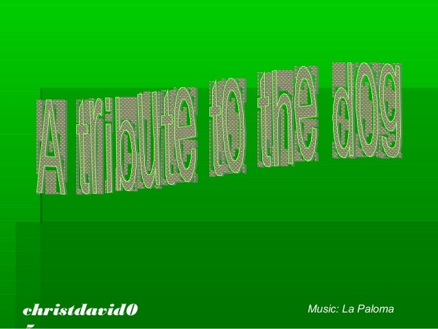 christdavid0 Music: La Paloma