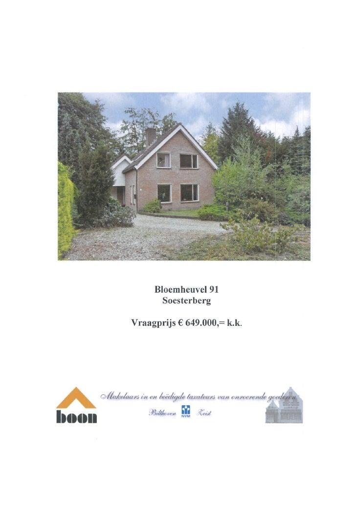Bloemheuvel 91 Soesterberg ( www.boonmakelaars.nl )