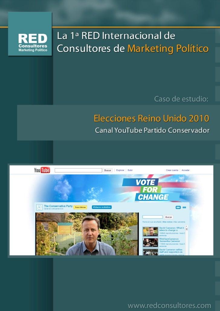 Canal YouTube Partido Conservador, 2010                                               2