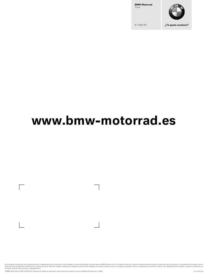 Accesorios BMW R1200RT