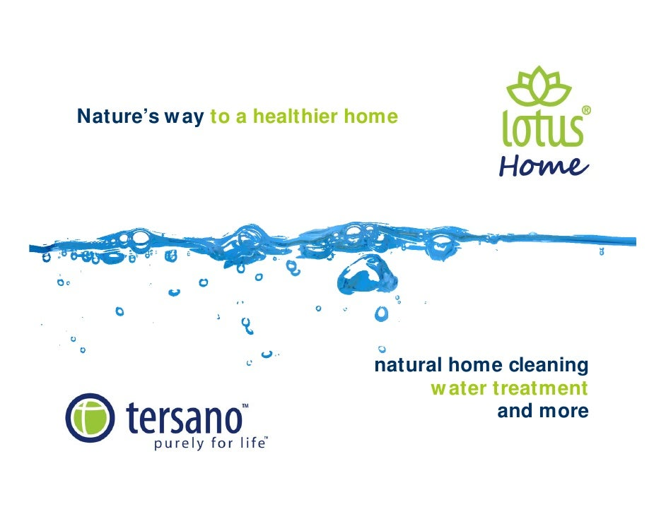 Nature's way  to a   healthier home natural home cleaning water treatment  and more
