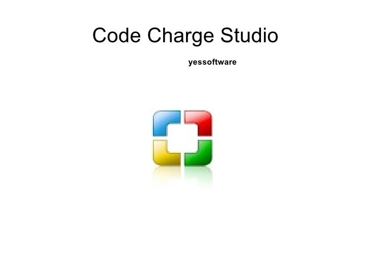 Code Charge Studio yessoftware