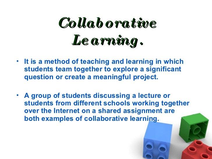 Collaborative Teaching Methodologies ~ C fakepathcooperative an collaborative learning