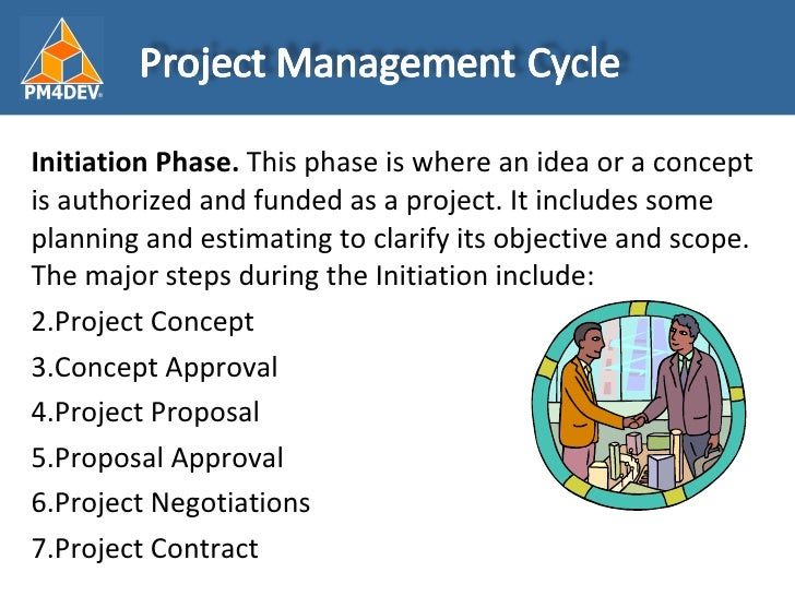 project management strategy five project phases Whether you're in charge of developing a website, designing a car, moving a department to a new facility, updating an information system, or just about any other project (large or small), you'll go through the same four phases of project management: planning, build-up, implementation, and closeouteven though the phases have distinct qualities.