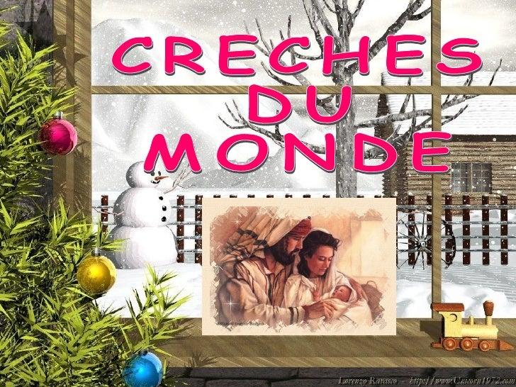 CRECHES  DU  MONDE