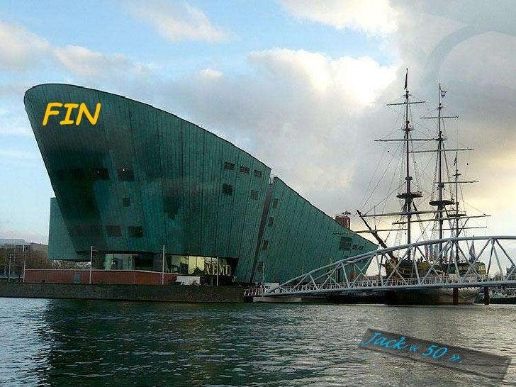dans le port d amsterdam