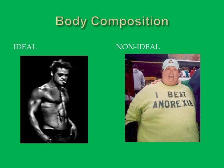 Body Composition<br />Ideal<br />Non-Ideal<br />