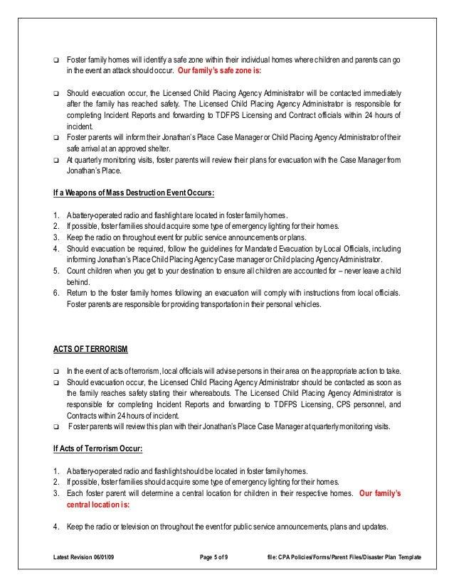 Evacuation Plan Template Fire Emergency Evacuation Plan And The