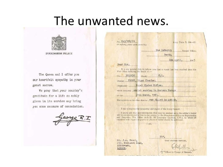 The unwanted news.<br />