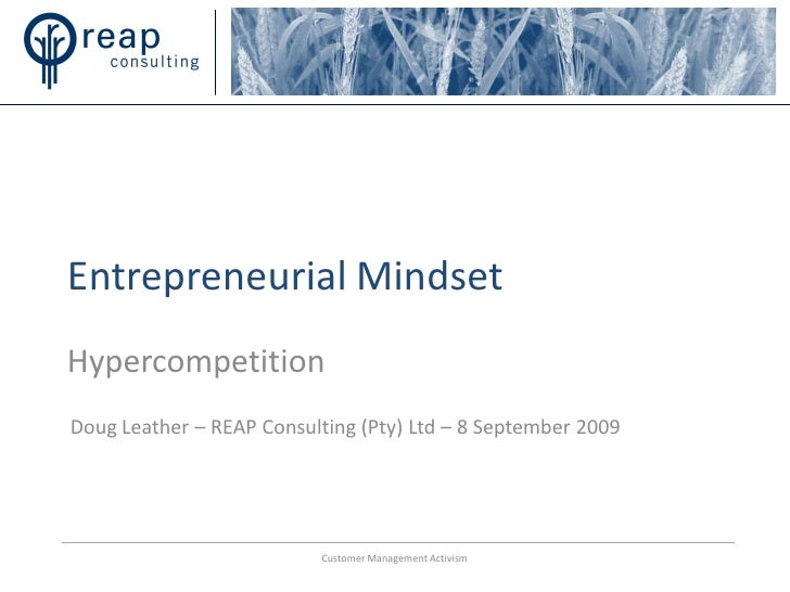 how to develop and entrepreneurial mindset