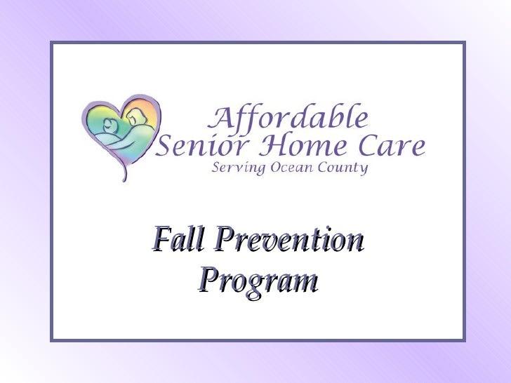 Fall Prevention Program