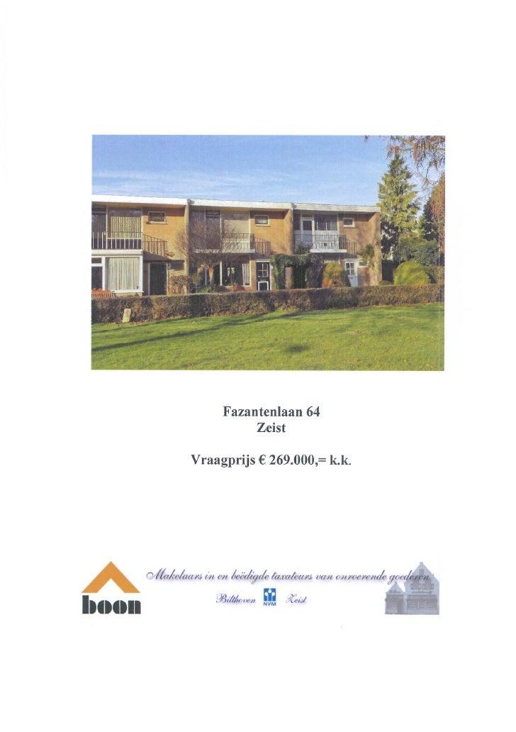 Fazantenlaan 64, 3704 EN, Zeist (www.boonmakelaars.nl)