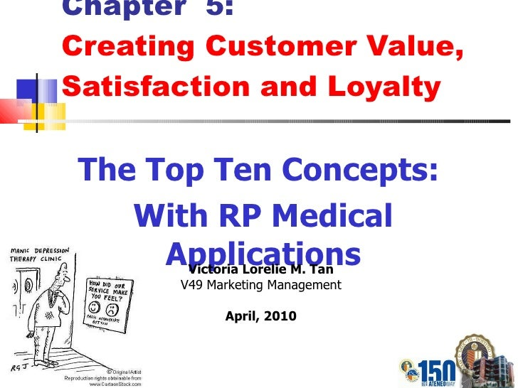 Chapter  5: Creating Customer Value, Satisfaction and Loyalty The Top Ten Concepts:  With RP Medical Applications Victoria...
