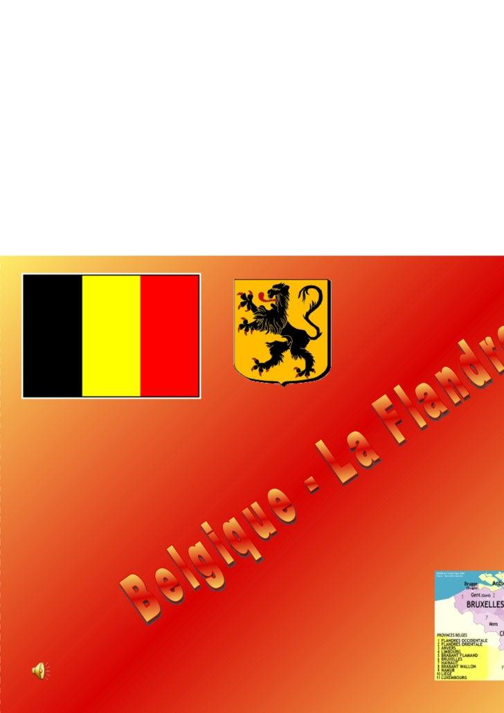 Belgique - La Flandre