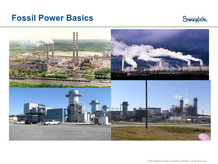 Fossil Power Basics