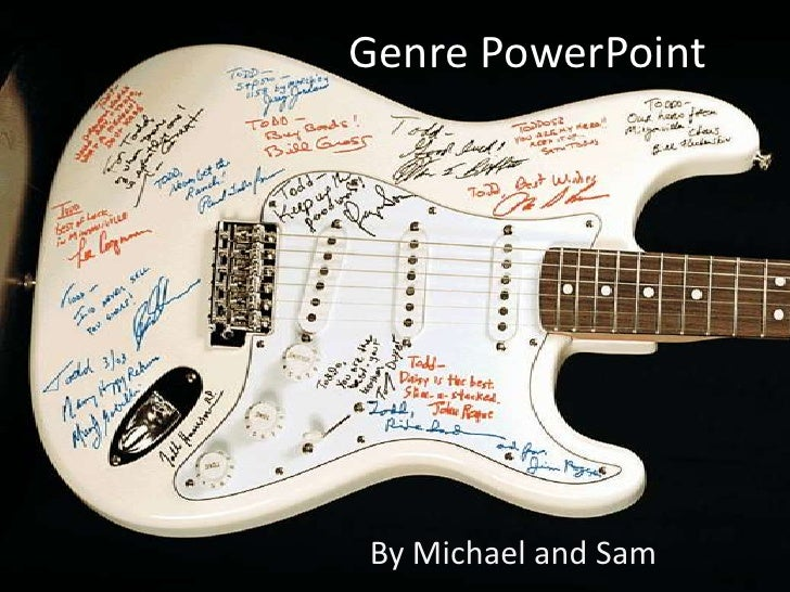 Genre PowerPoint<br />By Michael and Sam<br />