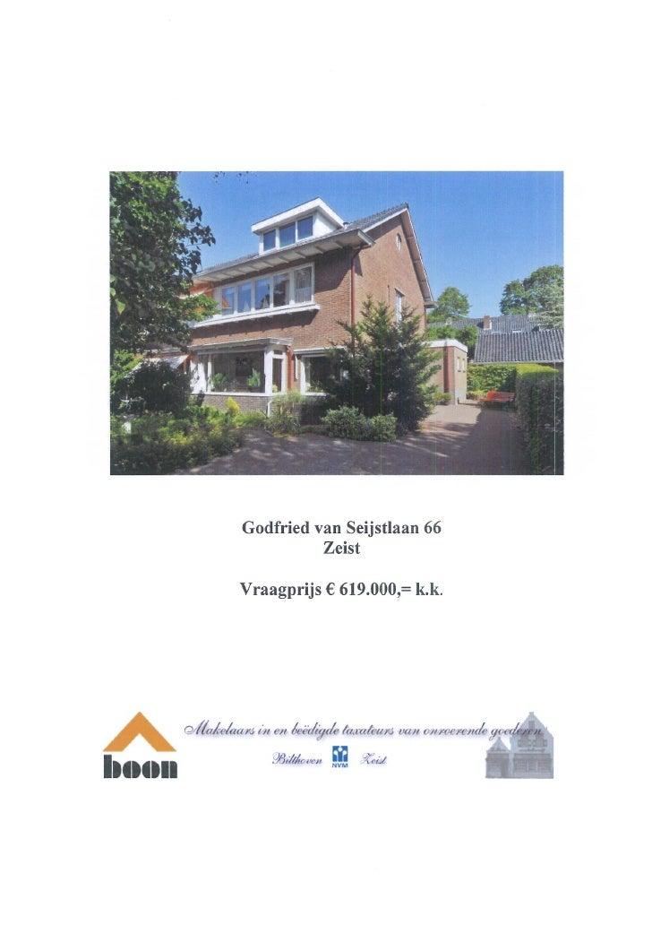 Godfried Van Seijstlaan 66 (www.boonmakelaars.nl)