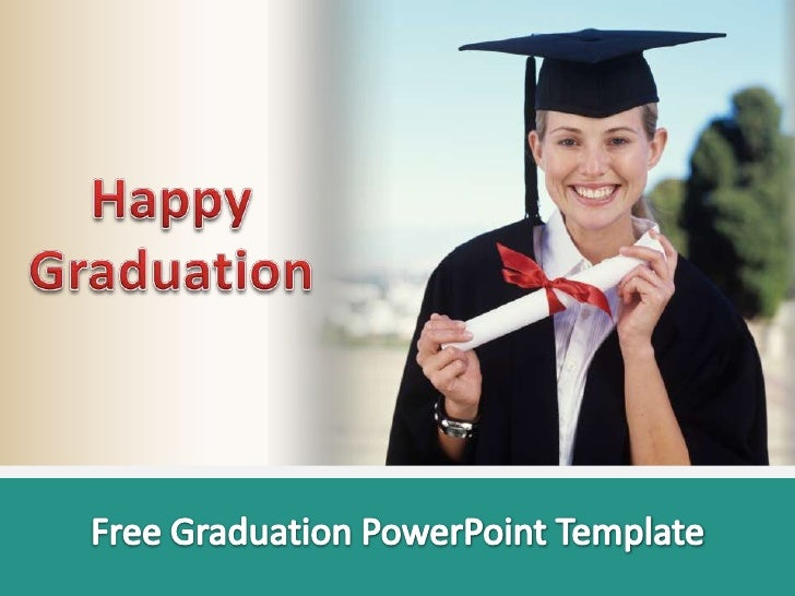 free graduation powerpoint template