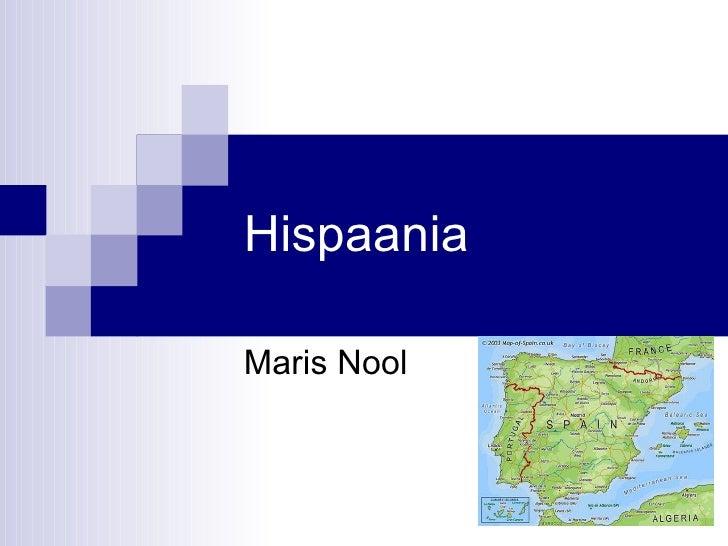 Hispaania Maris Nool