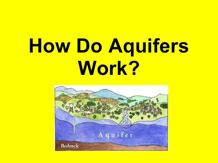 How Do Aquifers Work?