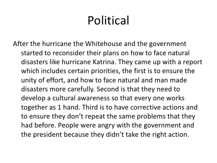 """hurricane katrina was a man made and natural disaster essay With the 2005 katrina storm being the worst natural disaster and """"system failure: the response to hurricane katrina destroyed man-made levees for a city."""