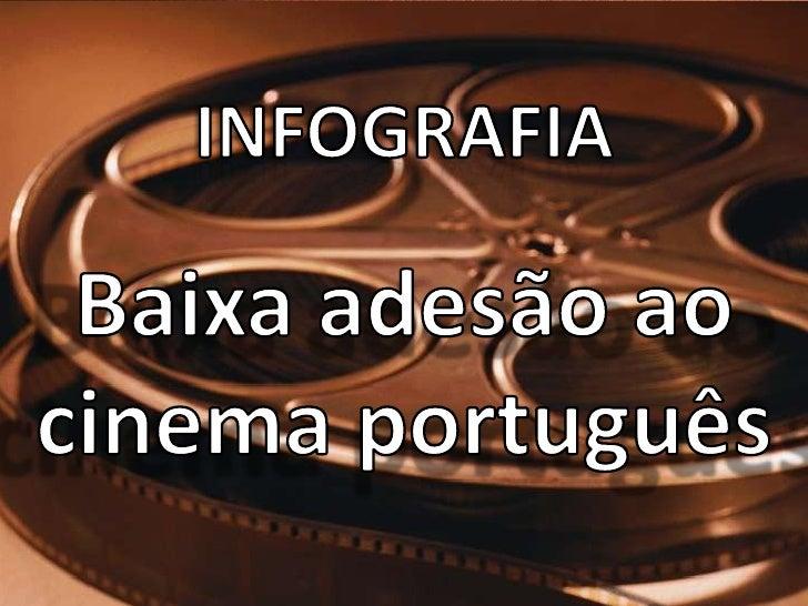 INFOGRAFIABaixa adesão ao cinema português<br />